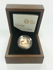 2010 The Royal Mint UK Gold Proof Full Sovereign Coin