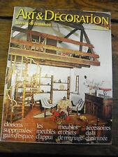 Art et décoration la revue de la maison n°194 Septembre 1976