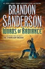 -SIGNED- Words of Radiance by Brandon Sanderson (2014, Hardcover)