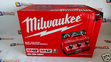 New Milwaukee 48-59-1807 M18™ & M12™ Li-Ion Rapid Charge Station Multi-Charger