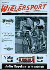 EDDY MERCKX Molteni World Champion Patrick SERCU Team Brooklyn cycling magazine
