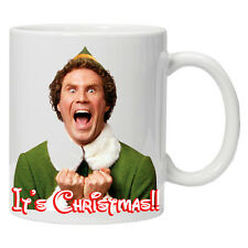 Personalised Christmas mug/cup Will Ferrell Its Christmas Perfect Gift Tea
