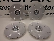 05-06 Chrysler Pacifica Silver Non Chrome Medallion Center Cap Set of 4 Mopar