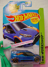2014 Hot Wheels HW FORD TRANSIT CONNECT #210 US☆Blue; Orange☆Heat Fleet☆nip