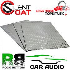 SILENT COAT EXTRA 4mm 6 fogli AUTO SOUND deadening vibrazione rettifica MAT