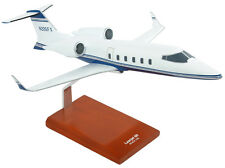 Bombardier Aerospace Learjet 60 Blue Desk Display Private 1/35 Model ES Airplane