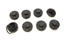 ★ Joker Machine Honda Motorcycle Valve Tappet Covers 8 Pack • Black • 12-001B ★