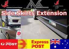 RHINO LIP Side Skirt Extension for Hyundai Getz i20 i30 i40 i45 Genesis Veloster