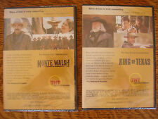 2 TNT SHOWS 1 PRICE MONTE WALSH + KING OF TEXAS EMMY DVD TOM SELLECK