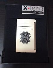 ST DUPONT X-TEND MAXIJET OPUS X LIMITED EDITION LIGHTER WHITE LACQUER FRANCE