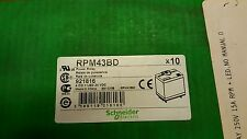 Schneider Zelio RPM43BD POWER RELAY LED 24 VDC NIB