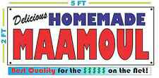 HOMEMADE MAAMOUL BANNER Sign NEW Larger Size Best Quality for the $$$ BAKERY
