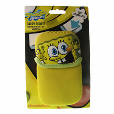 Spongebob Squarepants Yellow Carry Pocket Case For DS Lite DSi And 3DS