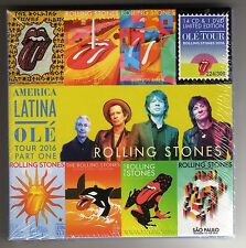 ROLLING STONES  -- American Latina OLe' Tour 2016 -- 14 CD s & 1 DVD Box  Set