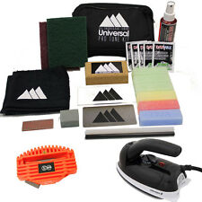 SKI & SNOWBOARD TUNING UNIVERSALE Pro TRAVEL Tuning Kit-Cera, Bordo & Ferro