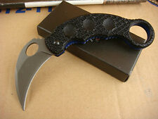 Assisted Opening Knife karambit Tactical Folding Camping Hunting Claw Saber Gift