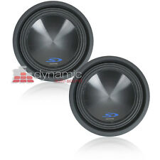 """Two (2) ALPINE SWS-10D2 Subs 10"""" Dual 2-Ohm Type-S Car Subwoofers 3,000W New"""