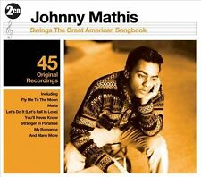 JOHNNY MATHIS - Swings the Great American Songbook - 45 TRACKS -2 CDs-NEW