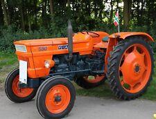 Fiat 550 Tractor Parts Manual