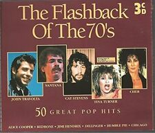 Flashback of the 70's Badfinger, John Travolta, Cat Stevens, Santana, T.. [3 CD]