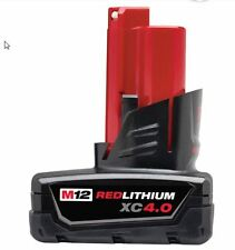 Milwaukee 48-11-2440 M12™ REDLITHIUM™ XC 4.0 Extended Capacity Battery Pack