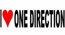 I Love One Direction Vinyl Decal Sticker