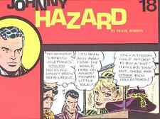 JOHNNY HAZARD 4 BOOKS OF SUNDAYS,11/22/1970 to 7/5/1974 Pacific Comics editions