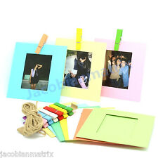 Gmatrix 10 Different Colorful Decor Borders FujiFilm 3 inch Instax Mini