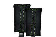 Verde Stitch encaja Kia Sorento 2009-2013 2x Frontal del cinturón de cuero cubre sólo
