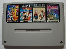 Biker Mice + Firemen + Pirates of Dark Water + Nightmare Busters - 4in1 SNES PAL