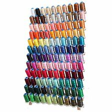 120 COLOR RAYON MACHINE EMBROIDERY THREAD SET - BIG 1000M CONES - 40WT