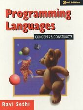 Programming Languages: Concepts and Constructs by Ravi Sethi (1996,...