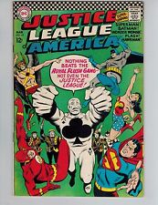 Justice League of America 43  1st Royal Flush Gang!  JLA 1966 Fine DC Comic
