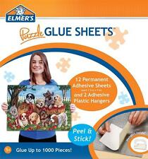MASTERPIECES ELMER'S PUZZLE GLUE SHEETS JIGSAW PUZZLE ADHESIVE - NO GLUE MESS