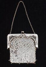 Jugendstil Abendtasche Silber 935, 1900/1910, ungewöhnlich