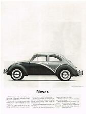 Vintage 1961 Magazine Ad Volkswagen We Change The VW Only To Improve It