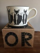 NEW Moorland Pottery Fox mug - Gift Boxed