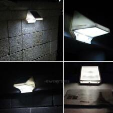 Outdoor 4LED Solar Power Stairs Fence Garden Security Lamp Waterproof Spot Light
