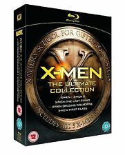 X-Men Ultimate Collection Blu-ray Box Set Hugh Jackman x men New Original UK Rel