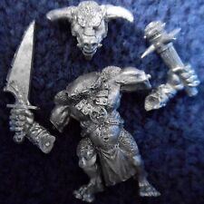 1998 Chaos Beastman Minotaur with Additional Hand Weapon 1 Citadel Beastmen Army