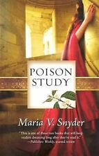 2DAY SHIPPING | Poison Study (Study, Book 1), PAPERBACK, Maria V. Snyder, 2007