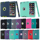Shockproof Heavy Duty Rubber Hard Case Cover For iPad Mini&ipad234& iPad Air 1/2