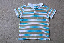 Boys H&M  Striped Polo Neck T-Shirt  age 2-4 Years