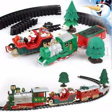Musical Train Track Toys Set Child Kids Baby Party Christmas Birthday Xmas Gift