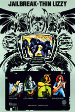 Thin Lizzy Jailbreak Poster 8x11 Print By Jim Fitzpatrick. Album Cover Art
