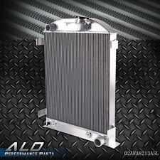 GPLUS Racing Aluminum Radiator For FORD MODEL A CHEVY V8 UPGRADE 1930 1931