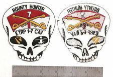 """#178  US ARMY E TROOP 1-7 CAVALRY PATCH """"BOUNTY HUNTER"""""""