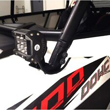 LED WORK LIGHT MOUNT BRACKET UTV OFFROAD 2014 2015 POLARIS RZR XP 1000 RZR 900