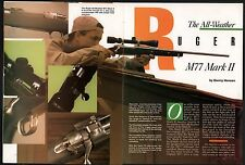 1992 RUGER M77 Mark II Rifle 4-page Evaluation Article