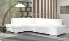 Corner Sofa Fabian with Bed function Corner Couch Sofa Couch Sofa bed 01539